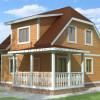 Проект дома из бруса  «Алексей»