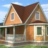 Проект дома из бруса «Константин»