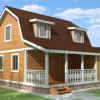 Проект дома из бруса  «Никита»