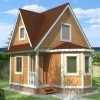 Проект дома из бруса  «Руслан»