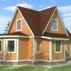 Проект дома из бруса  «Савелий»