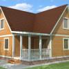 Проект дома из бруса «Виктор»