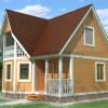 Проект дома из бруса  «Владислав»