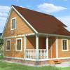 Проект дома из бруса  «Альберт»