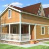 Проект дома из бруса  «Анатолий»
