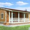 Проект дома из бруса «Аркадий»