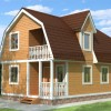Проект дома из бруса  «Богдан»