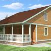 Проект дома из бруса  «Борис»