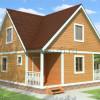 Проект дома из бруса  «Добрыня»