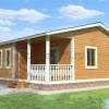 Проект дома из бруса «Ерофей»