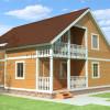Проект дома из бруса «Филипп»