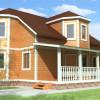Проект дома из бруса «Христофор»