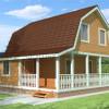 Проект дома из бруса «Иван»