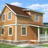 Проект дома из бруса «Леонид»