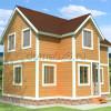 Проект дома из бруса «Матвей»