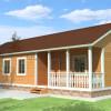 Проект дома из бруса  «Мефодий»