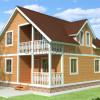 Проект дома из бруса «Роман»