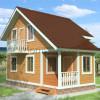 Проект дома из бруса  «Самуил»