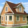 Проект дома из бруса  «Станислав»