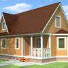 Проект дома из бруса  «Всеволод»