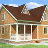 Проект дома из бруса  «Ярослав»