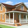 Проект дома из бруса  «Ефим»