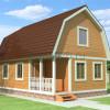 Проект дома из бруса «Николай»