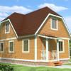 Проект дома из бруса «Павел»