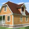 Проект дома из бруса  «Тимофей»