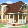 Проект дома из бруса «Валерий»