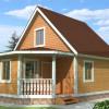 Проект дома из бруса  «Захар»