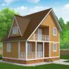 Проект дома из бруса «Архип»