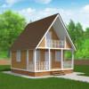 Проект дома из бруса «Вячеслав»