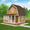 Проект дома из бруса «Илья»