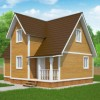 Проект дома из бруса «Феодосий»