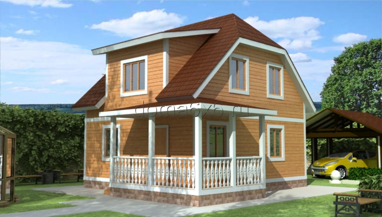 фото дом 1.5 этажа