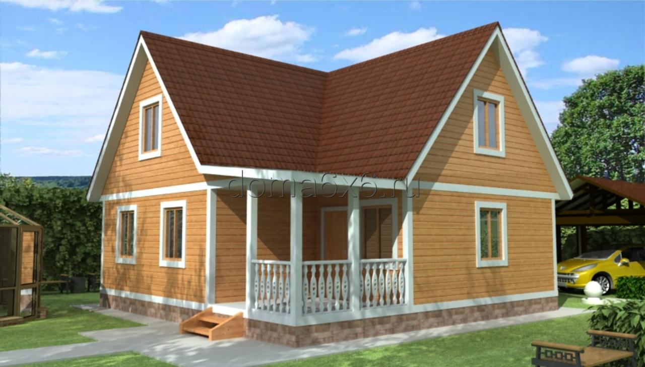 Строительство деревянных домов под ключ в Москве и