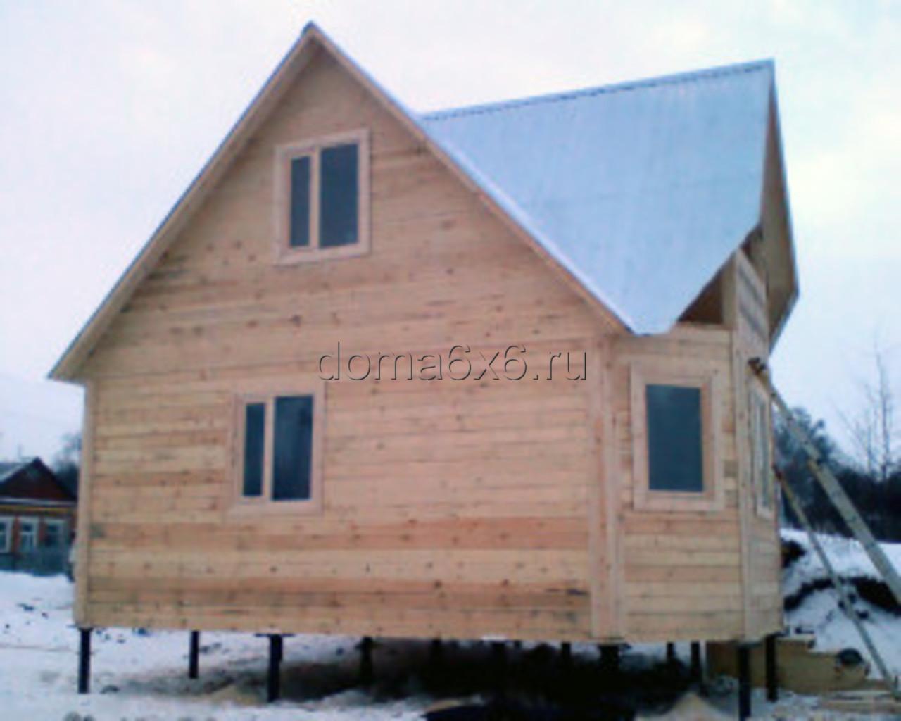 Дом из профилированного бруса г. Киреевск - вид третий