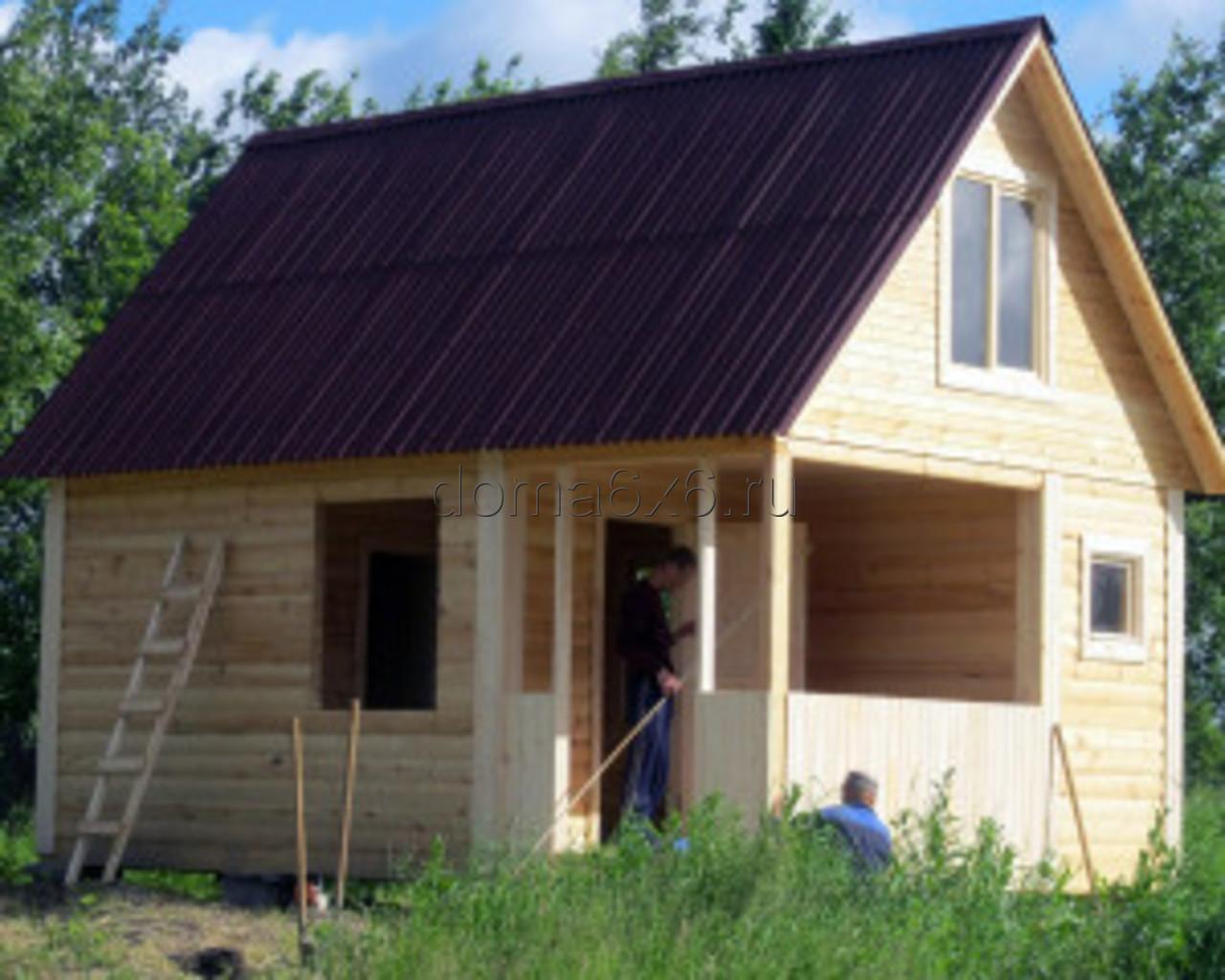 Строительство бани в Великом Новгороде