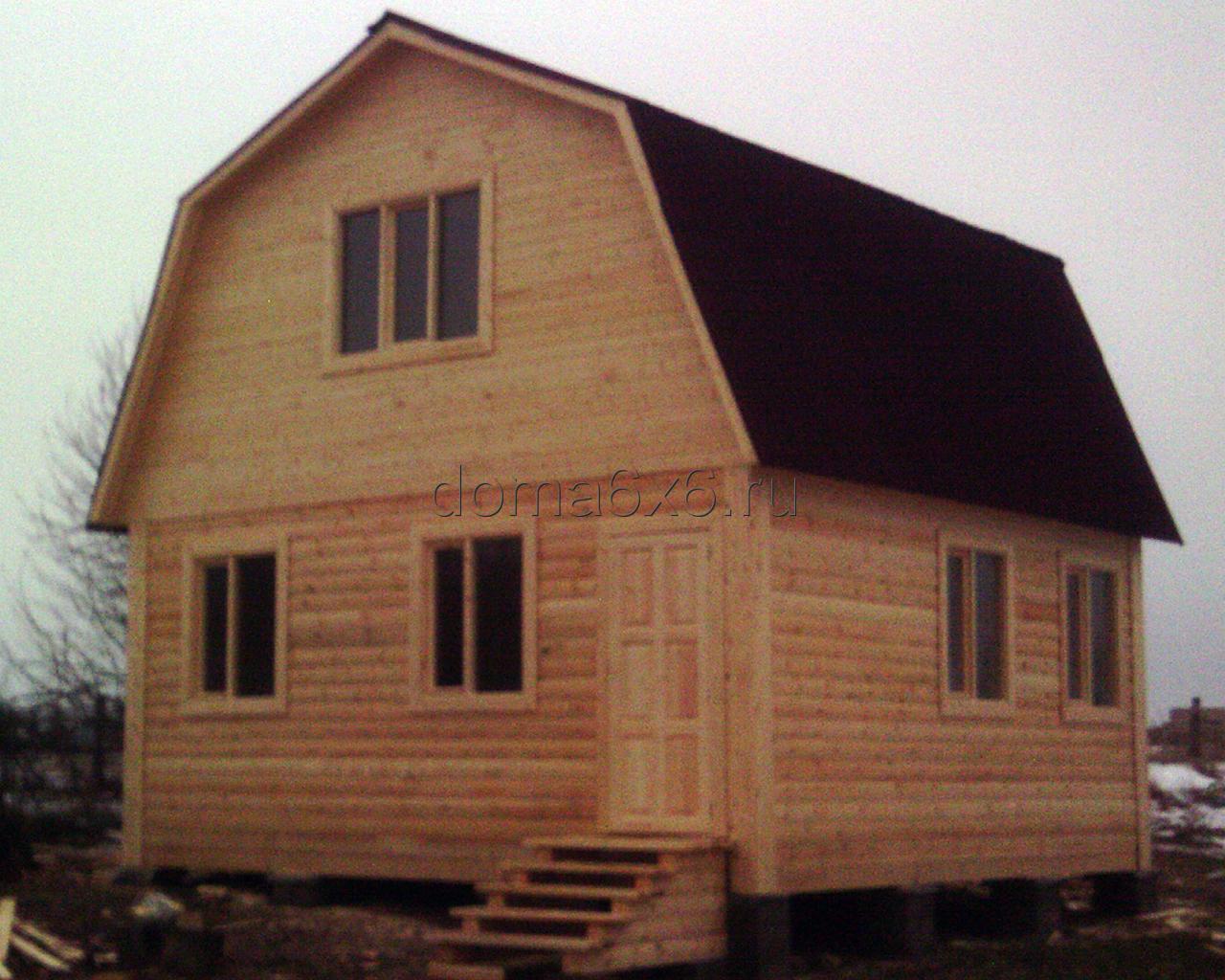 Дом из профилированного бруса п.Рамешки