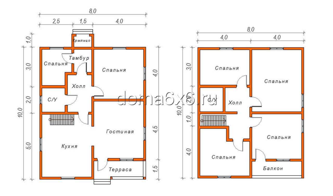 Дома из бруса под ключ строительство домов недорого