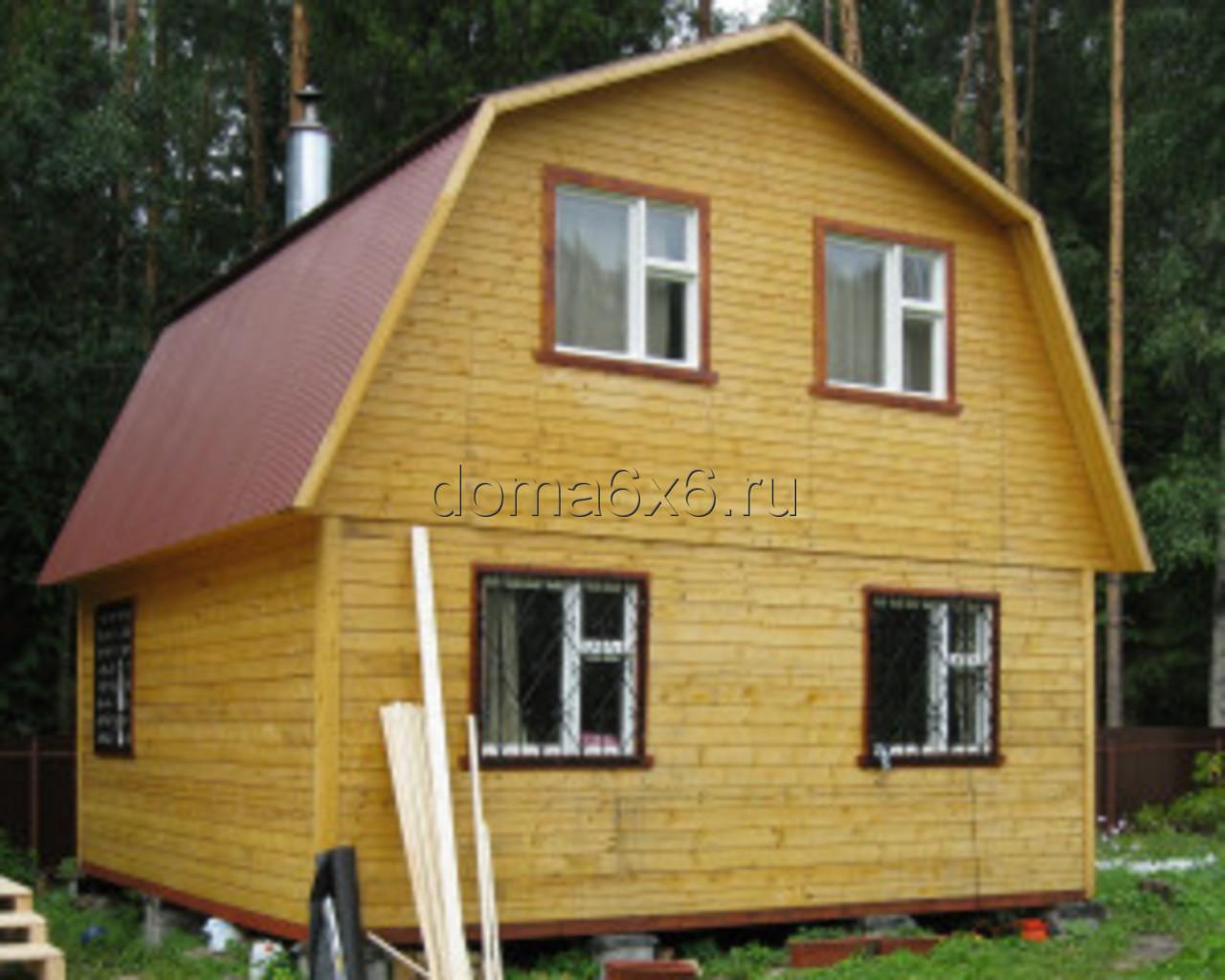 Дом своими руками из бруса без опыта строительства