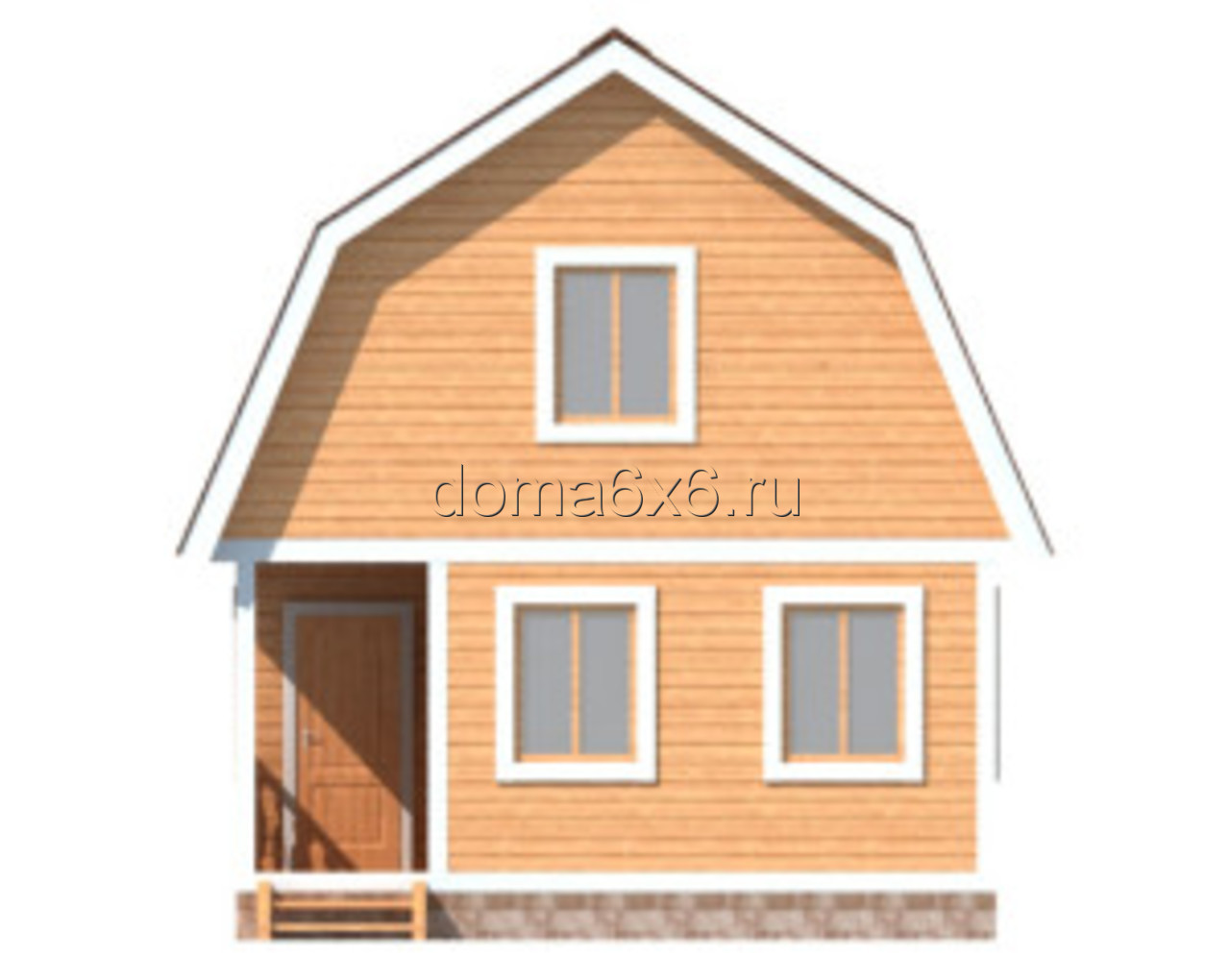 "Проект дома из бруса ""Николай"" - 2"