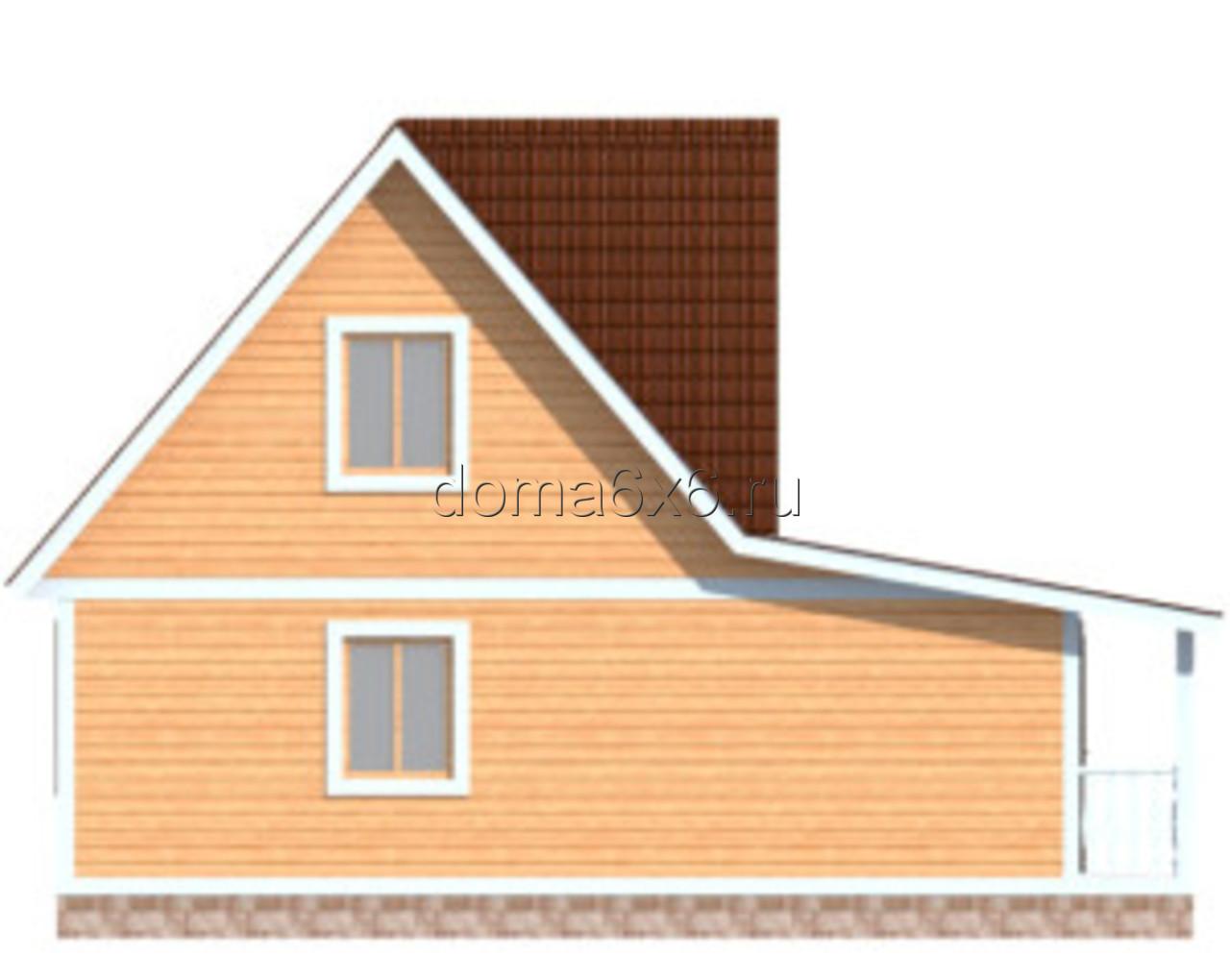 """Проект дома из бруса """"Роберт"""" - 4"""