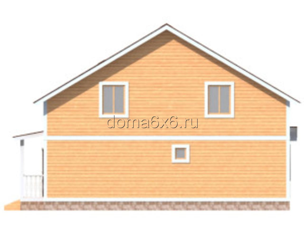 """Проект дома из бруса """"Ростислав"""" - 4"""