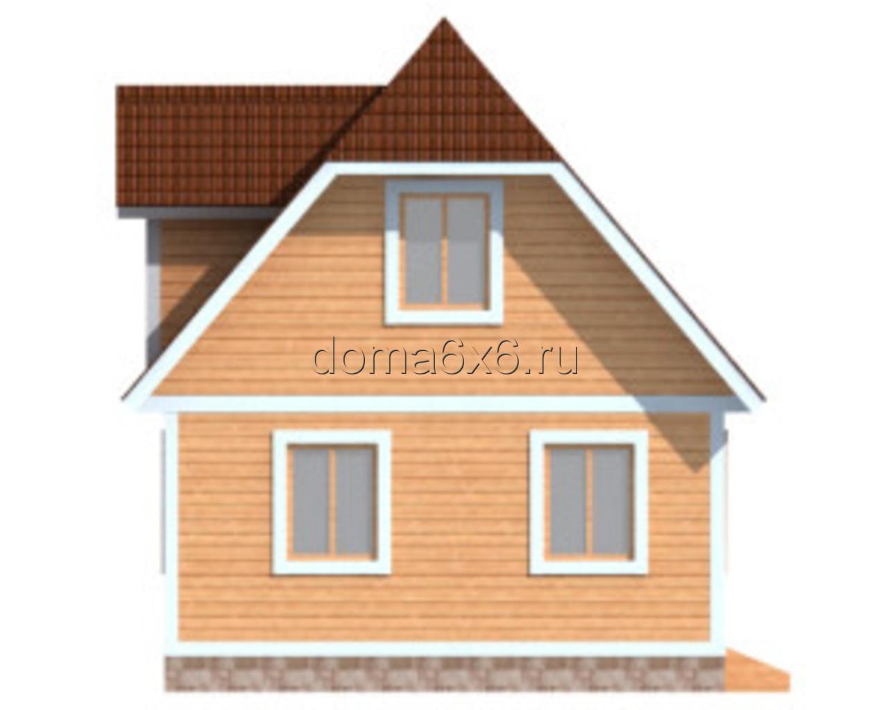 "Проект дома из бруса ""Тимофей"" - 3"