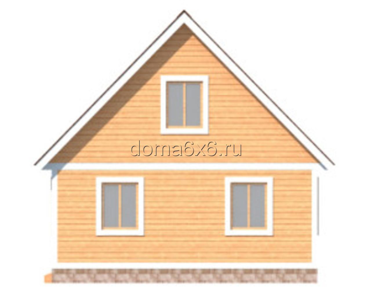 """Проект дома из бруса """"Захар"""" - 3"""