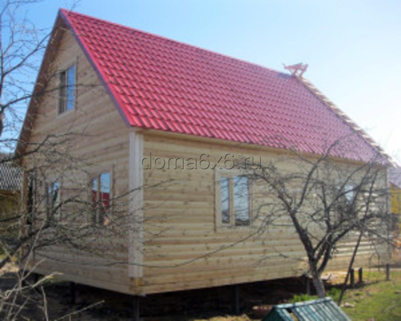 Строительство дома из бруса в Малой Вишере - 2