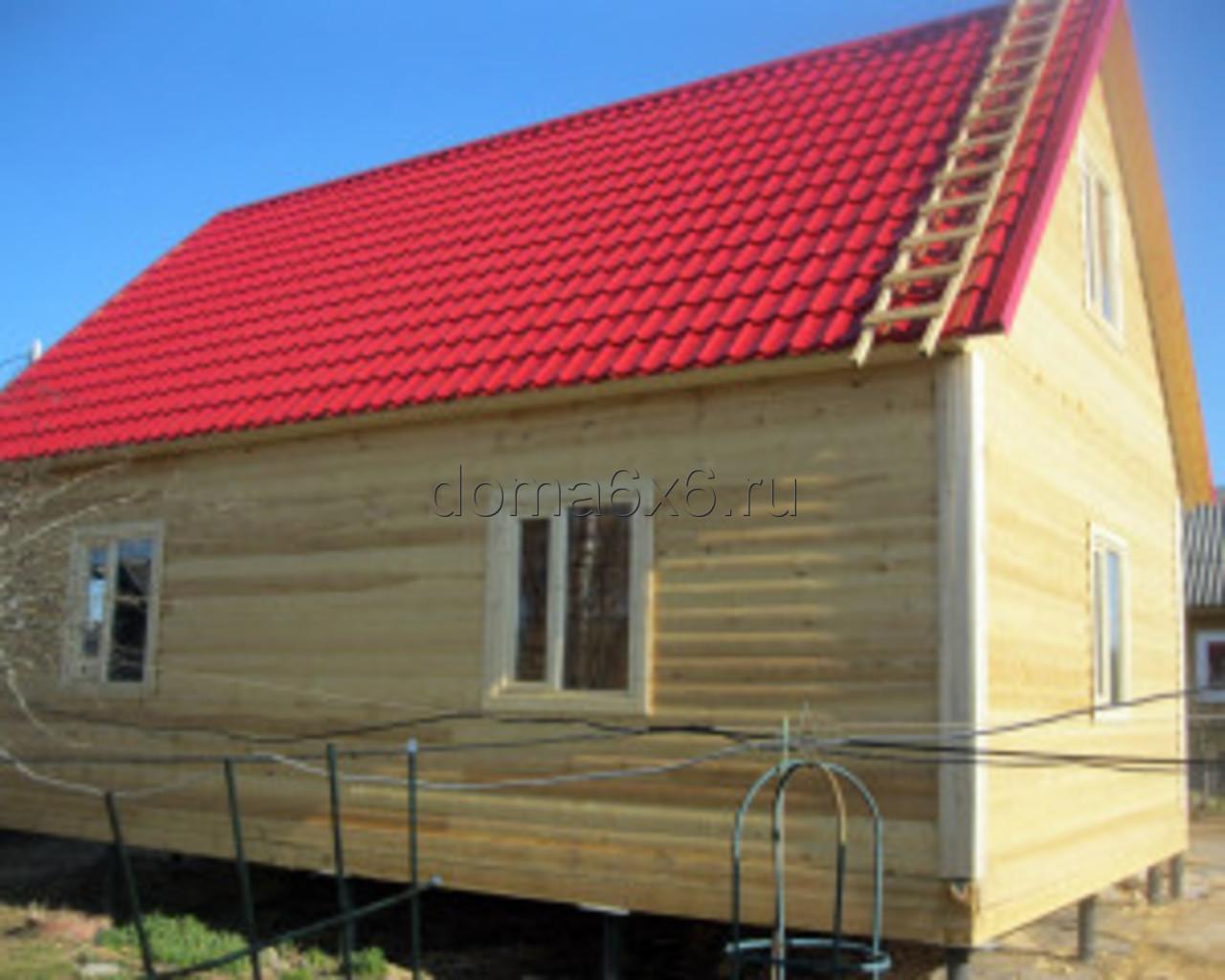 Строительство дома из бруса в Малой Вишере - 3