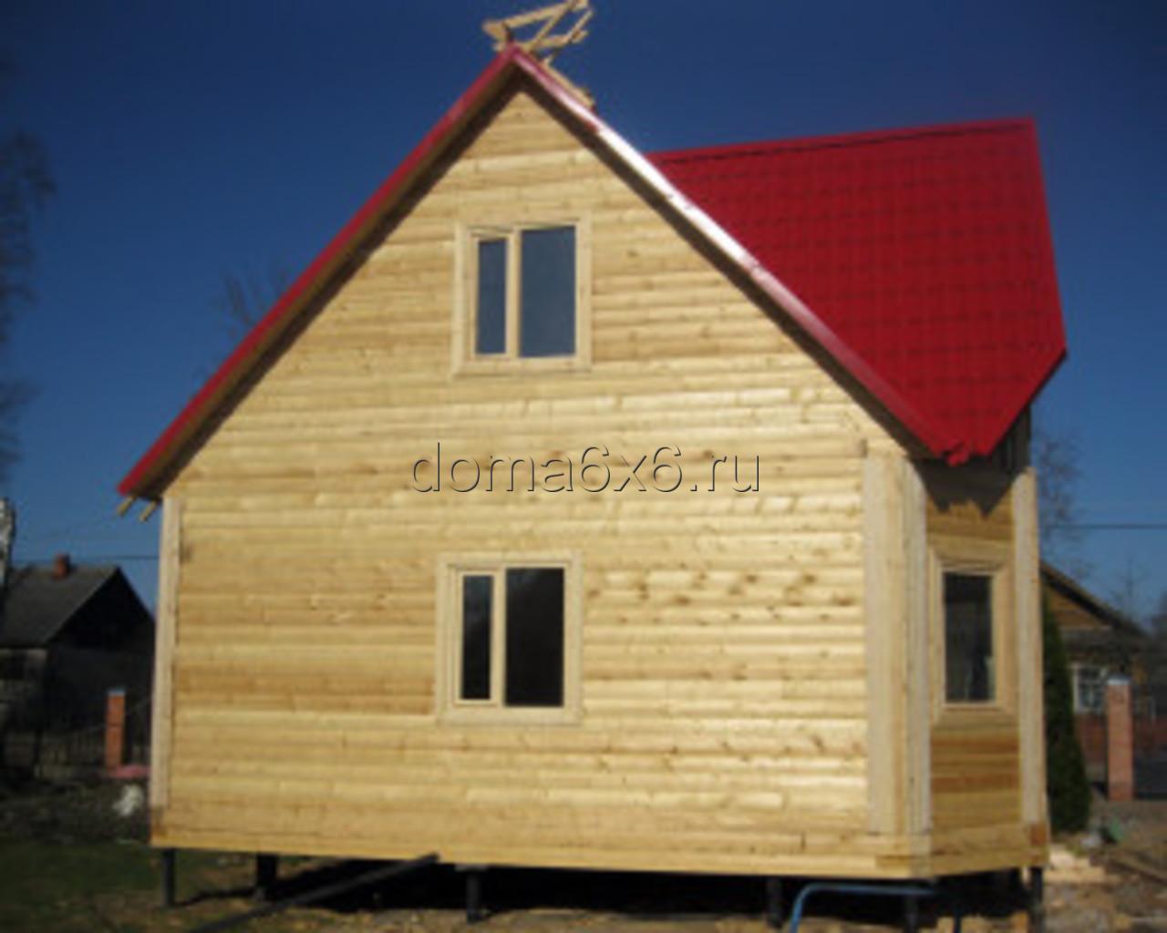 Строительство дома из бруса в Малой Вишере - 4
